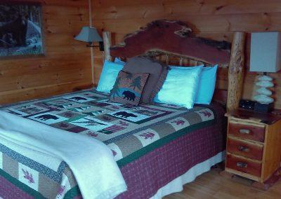 King Bed - 1st floor bedroom handicap accessible