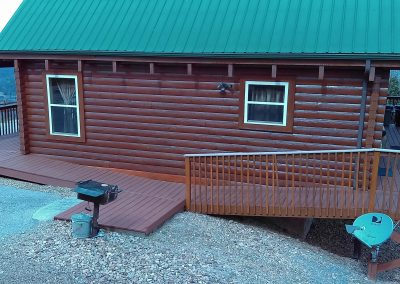 wheelchair handicap accessible vacation rental cabin